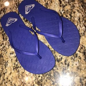 Roxy Sandals slide on flip flops 6 / 7 beach